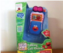 Elmos World Talking Cell Phone