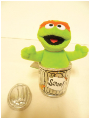 Unsafe Toy-Oscar The Grouch Doll