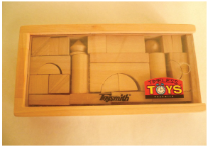 ToySmith Wooden Blocks Set